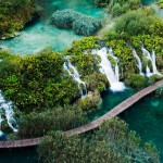 Lower Falls, Plitvice Lakes national park, Croatia.
